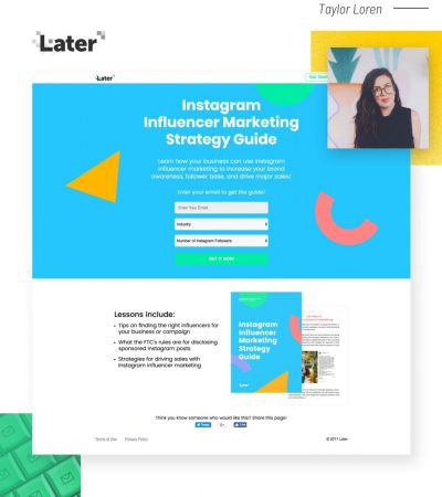 This SaaS Collected 100k+ Leads Using Gated Content & Landing Pages